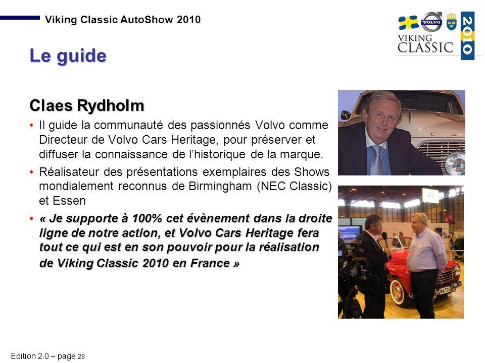 Le guide Claes Rydholm.