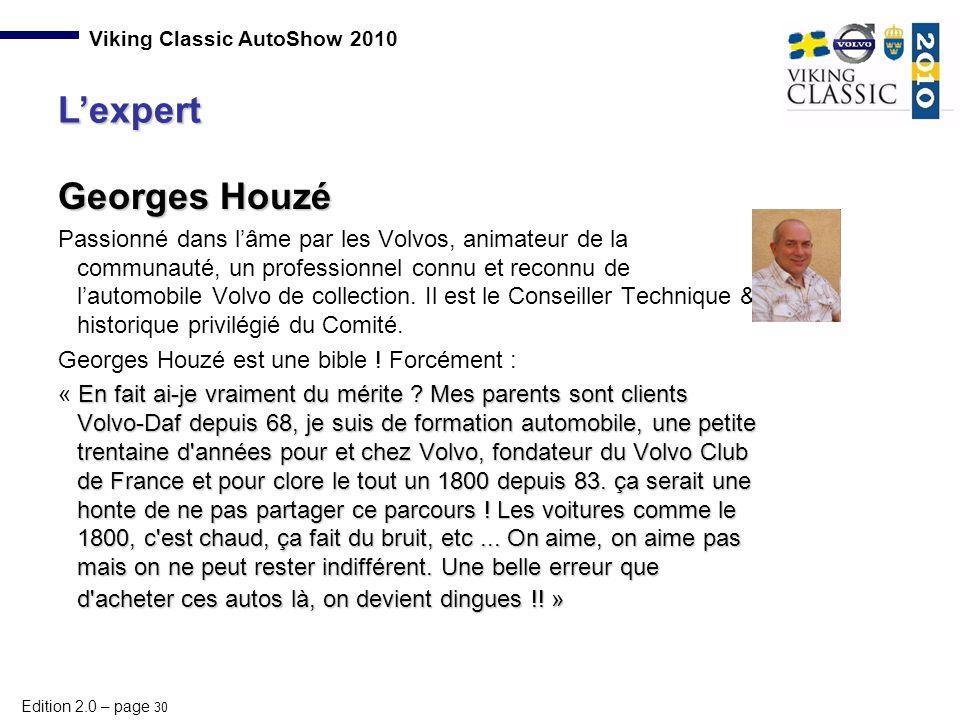 L'expert Georges Houzé