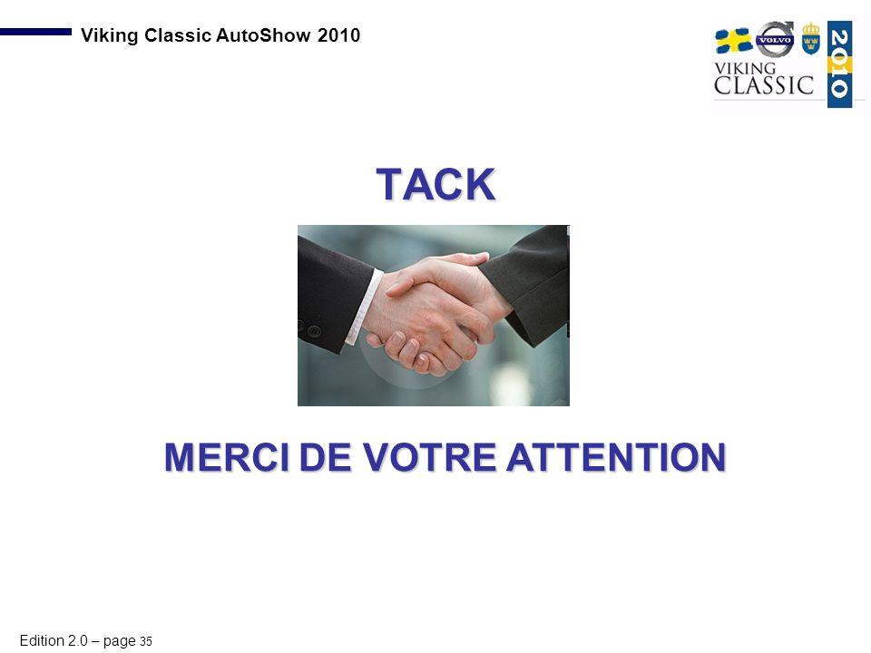 TACK MERCI DE VOTRE ATTENTION