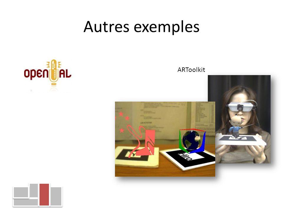Autres exemples ARToolkit