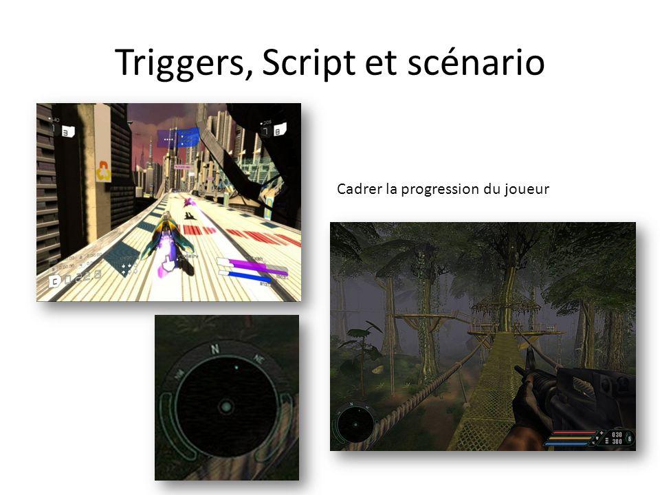 Triggers, Script et scénario