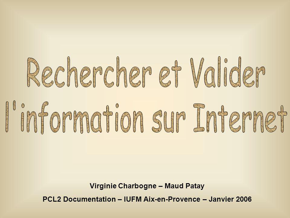 l information sur Internet