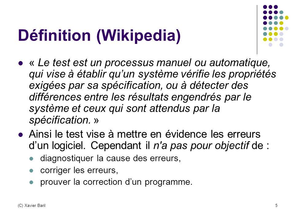Définition (Wikipedia)