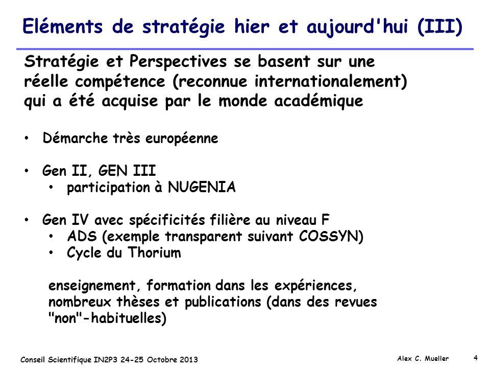 Eléments de stratégie hier et aujourd hui (III)