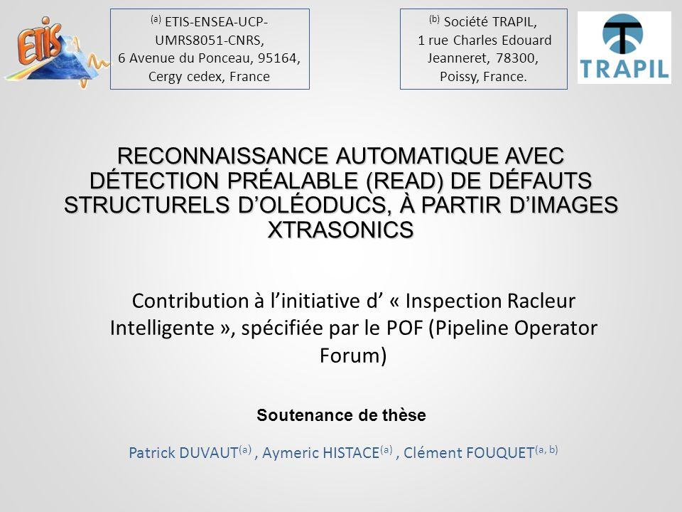 (a) ETIS-ENSEA-UCP-UMRS8051-CNRS,