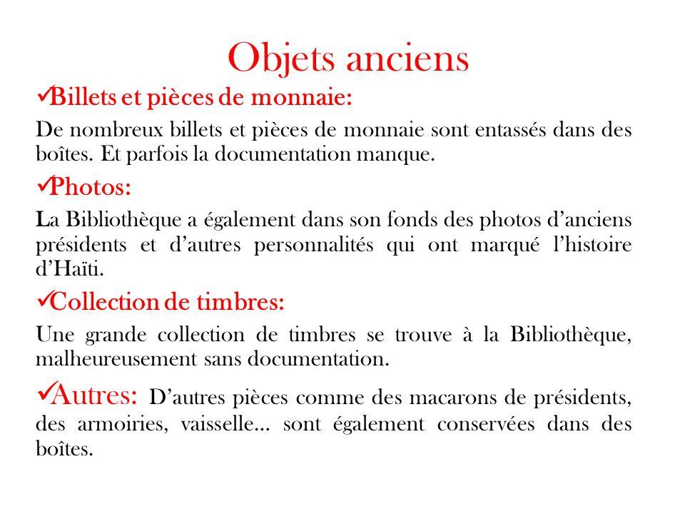 Objets anciens Billets et pièces de monnaie: