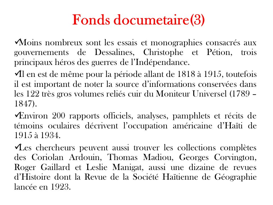 Fonds documetaire(3)