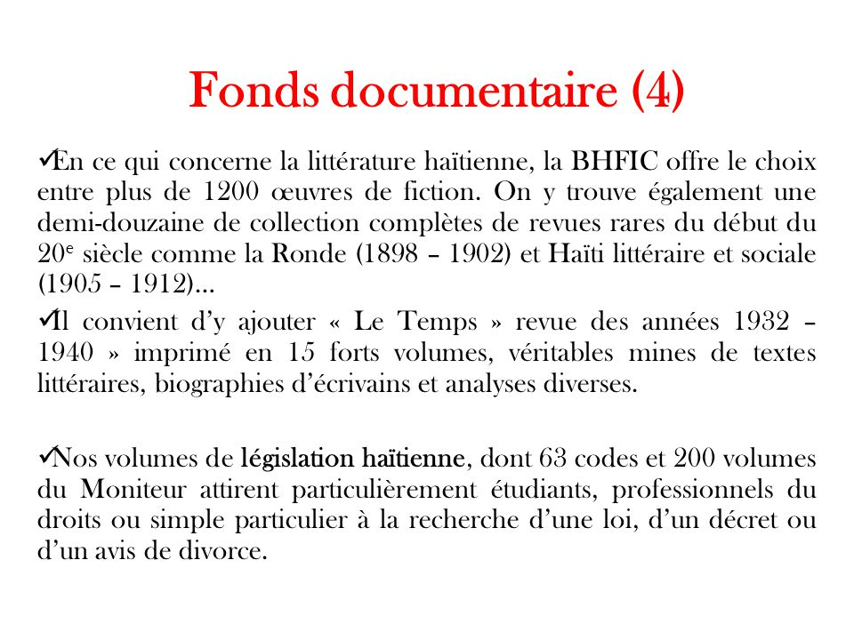 Fonds documentaire (4)