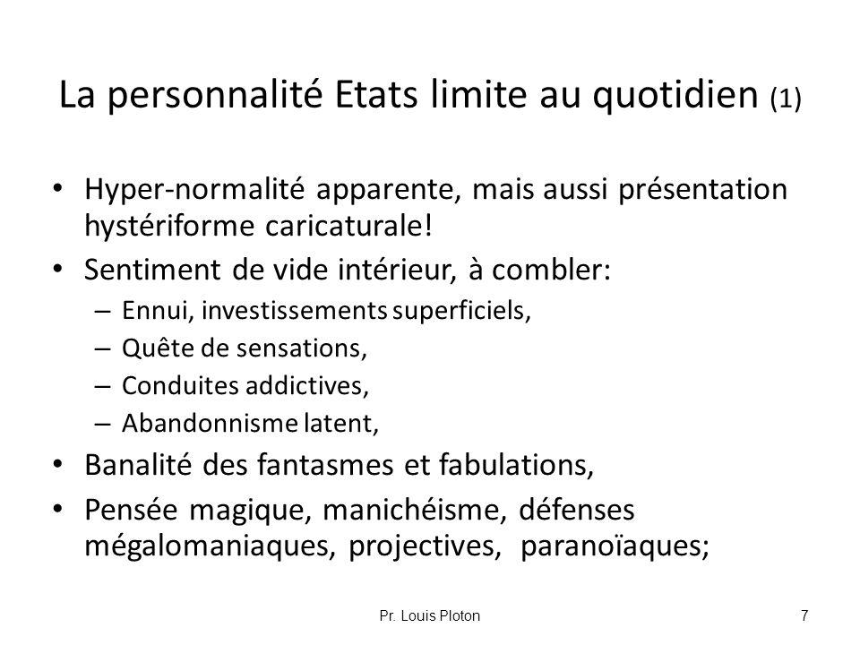 La personnalité Etats limite au quotidien (1)