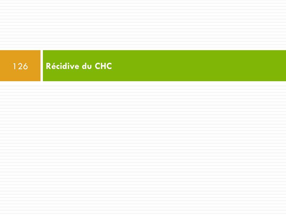 Récidive du CHC