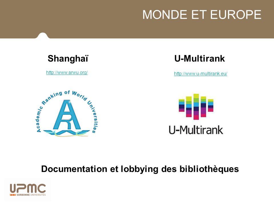 Documentation et lobbying des bibliothèques
