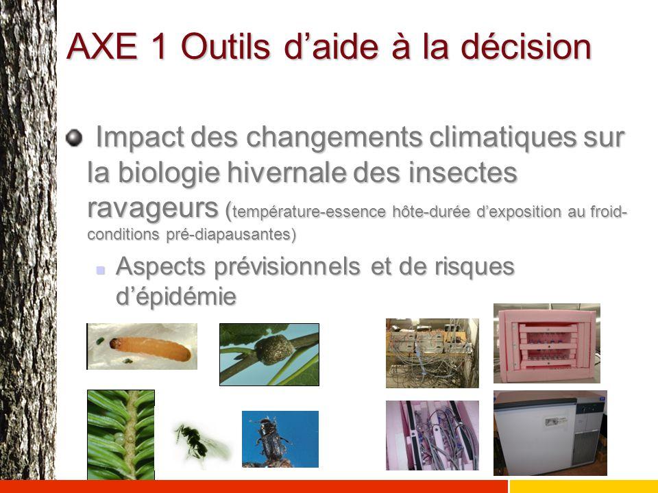 AXE 1 Outils d'aide à la décision