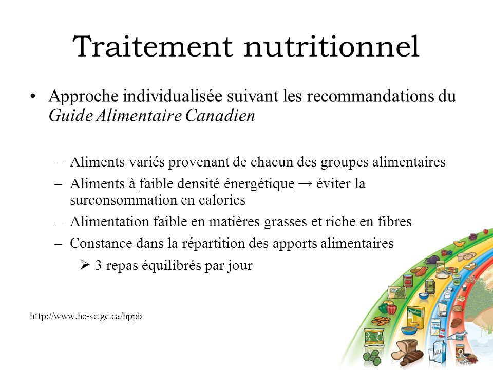 Traitement nutritionnel