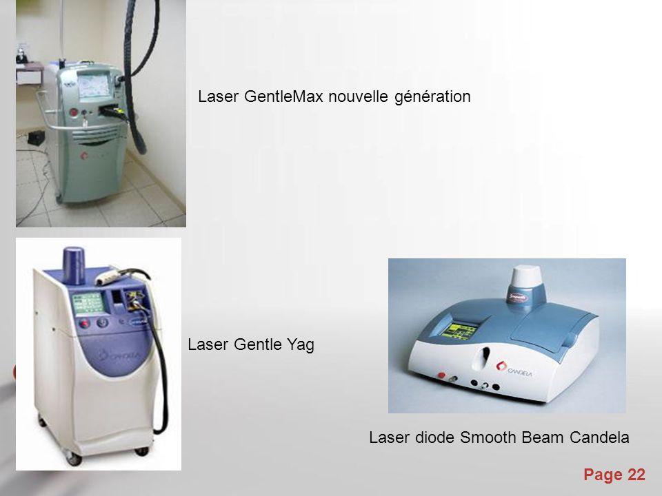 Laser GentleMax nouvelle génération