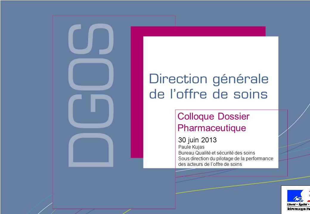 Colloque Dossier Pharmaceutique