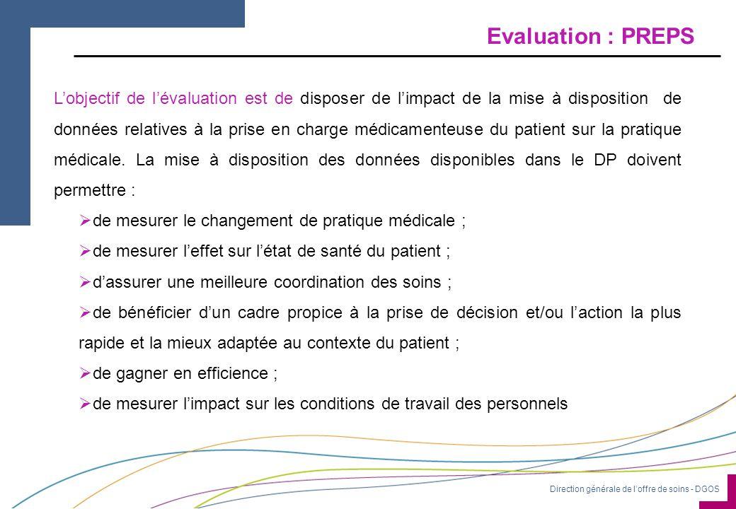 Evaluation : PREPS