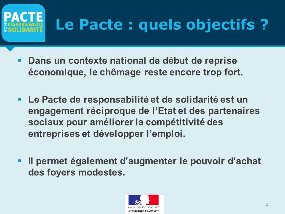 Le Pacte : quels objectifs