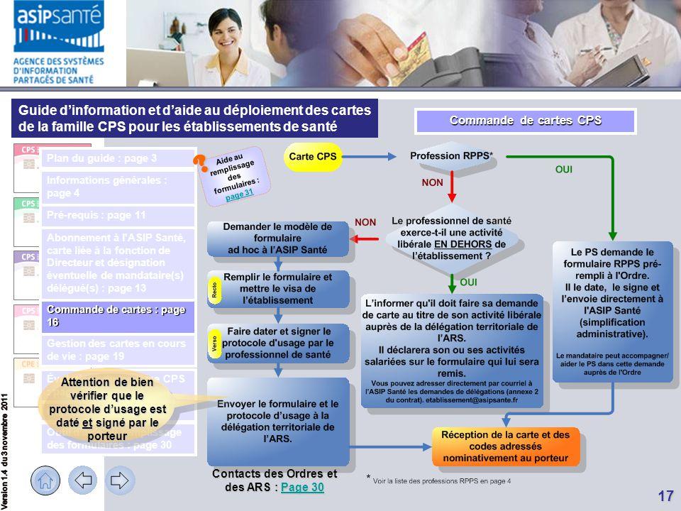 Aide au remplissage des formulaires : page 31