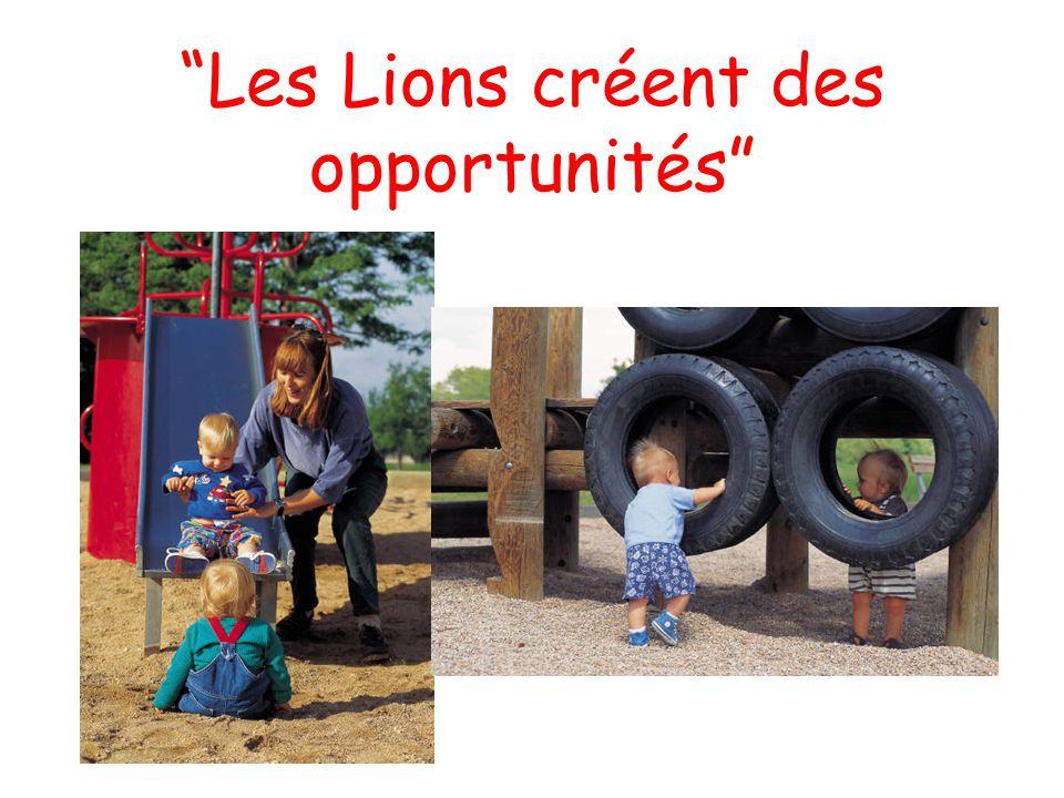 Les Lions créent des opportunités