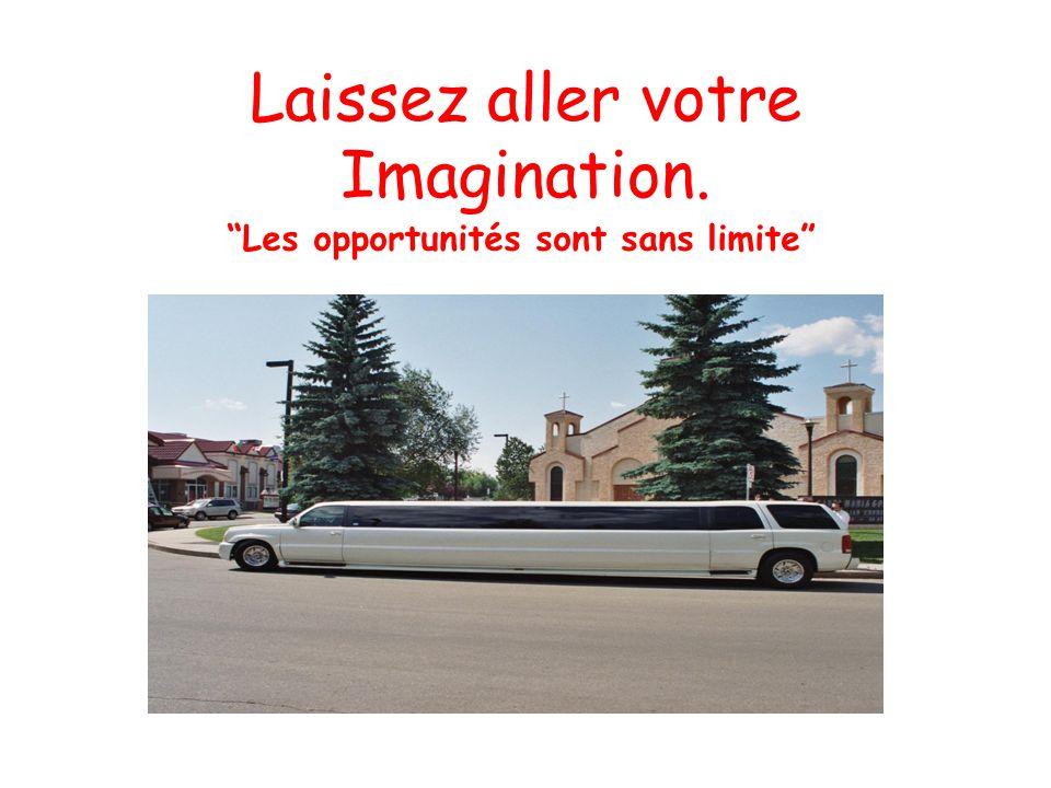 Laissez aller votre Imagination.