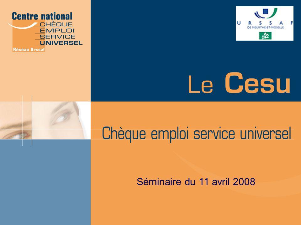Séminaire du 11 avril 2008