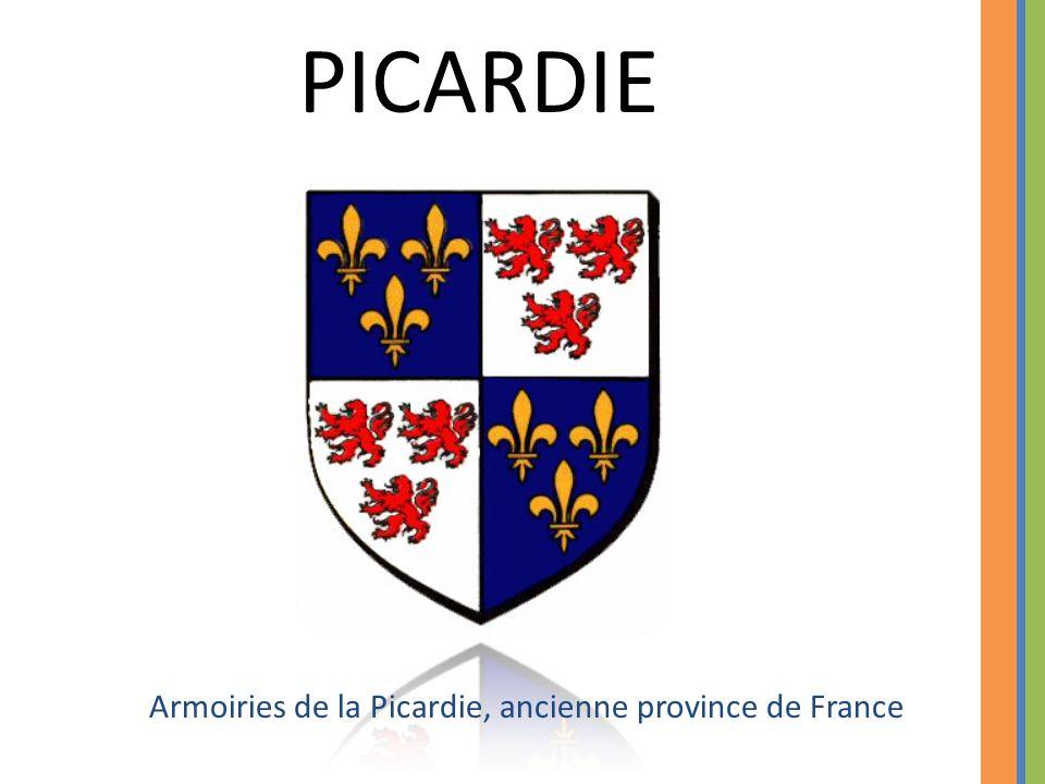 PICARDIE Armoiries de la Picardie, ancienne province de France