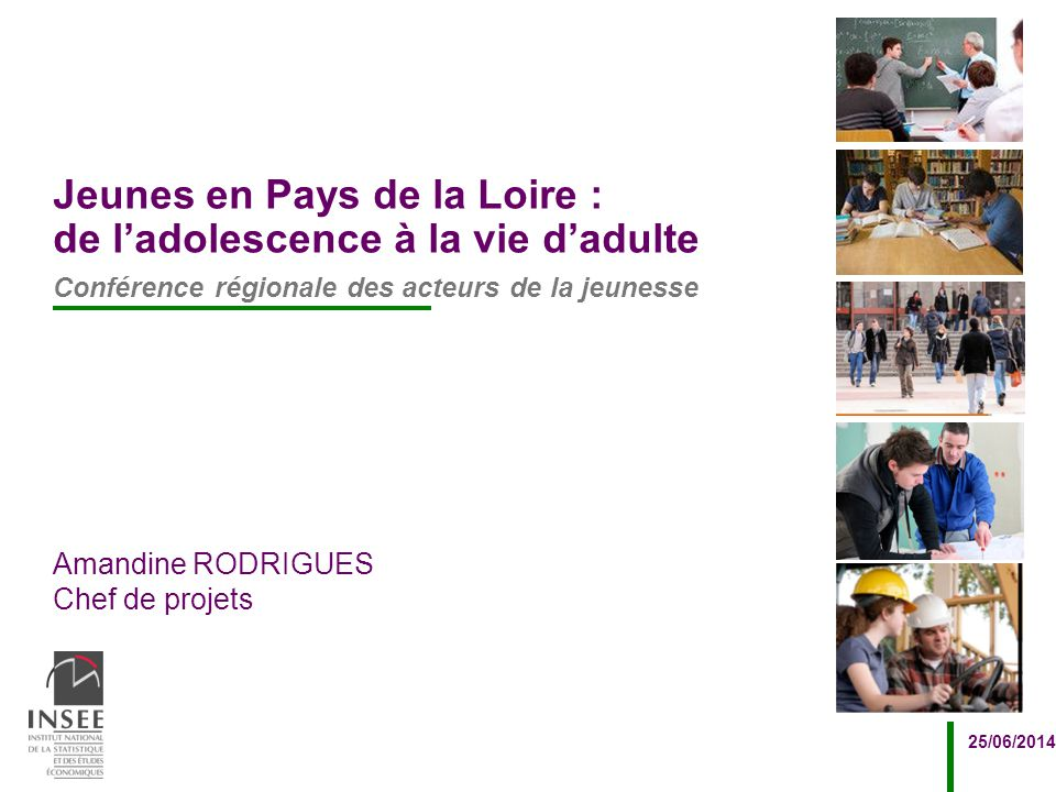 Jeunes en Pays de la Loire : de l'adolescence à la vie d'adulte