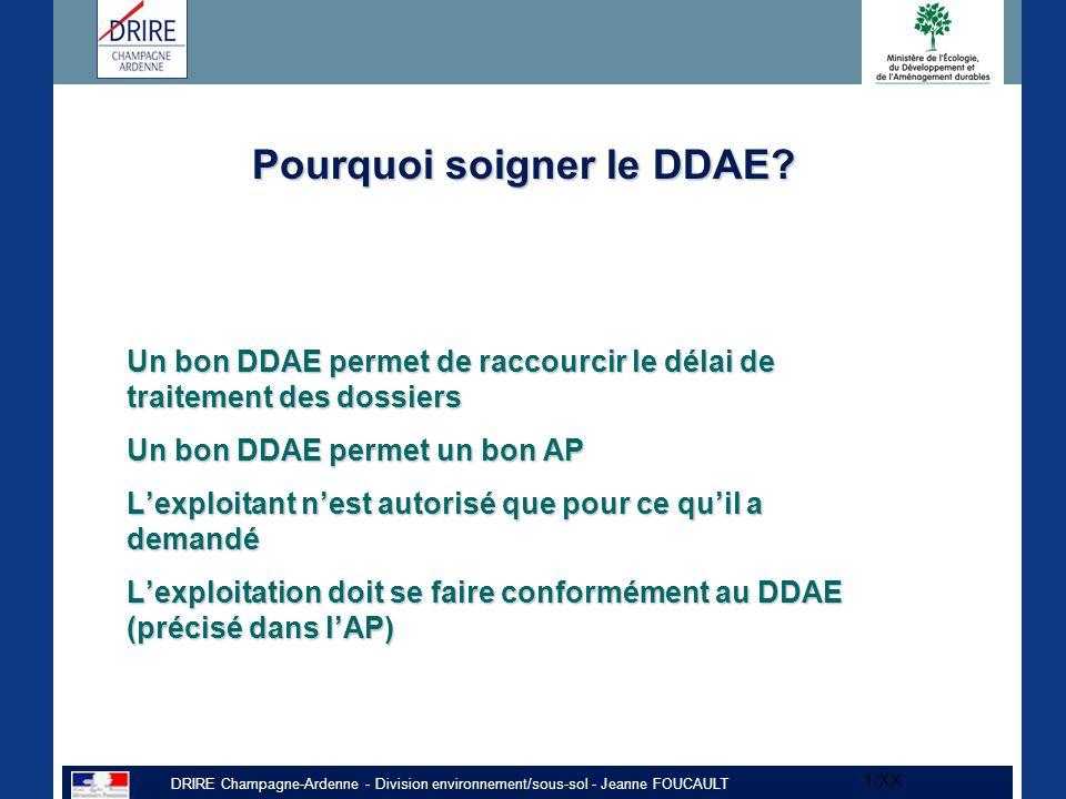 Pourquoi soigner le DDAE