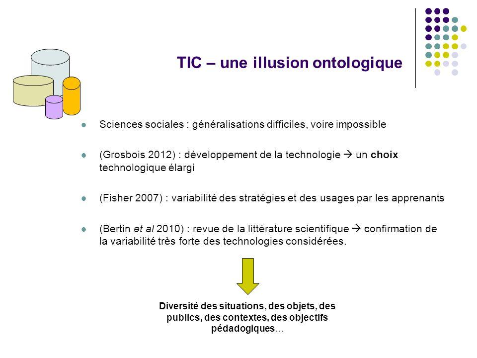 TIC – une illusion ontologique