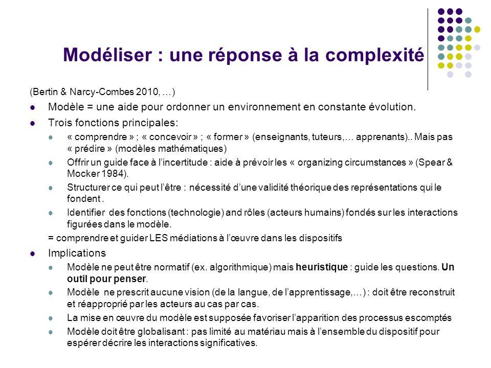 Modéliser : une réponse à la complexité