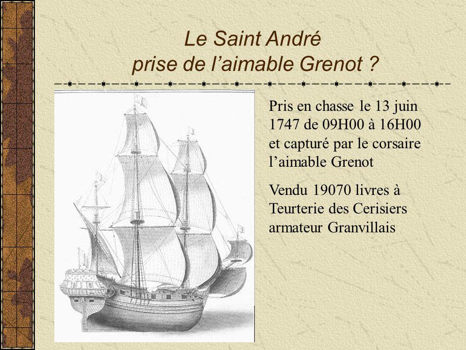 Le Saint André prise de l'aimable Grenot