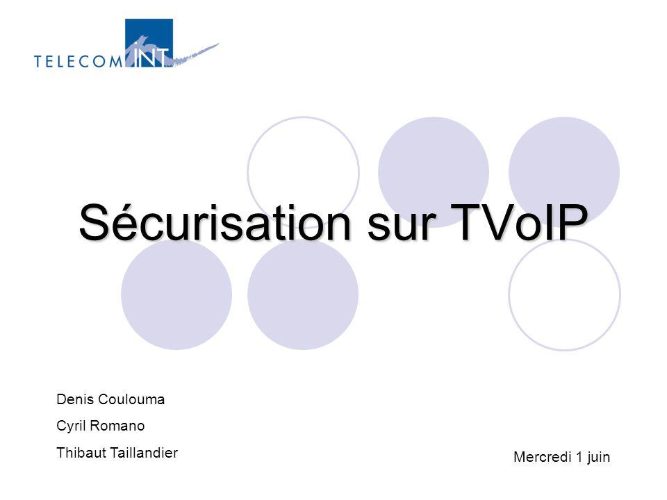 Sécurisation sur TVoIP