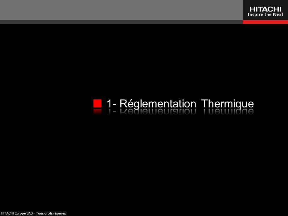 1- Réglementation Thermique