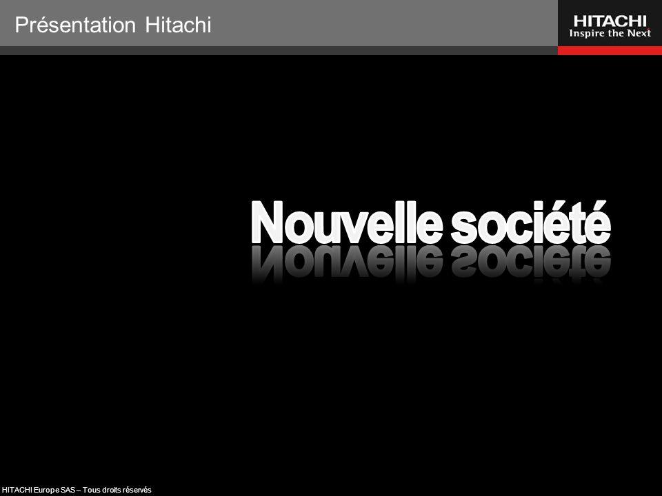 Présentation Hitachi Nouvelle société