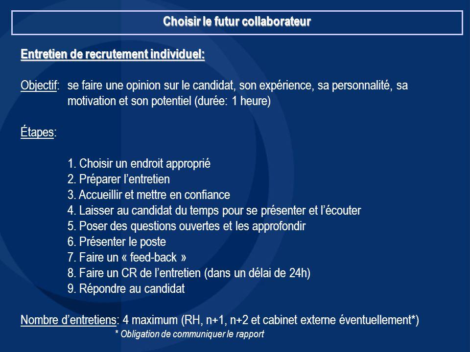 Esc lille td management des ressources humaines 2006 - Entretien cabinet de recrutement questions ...