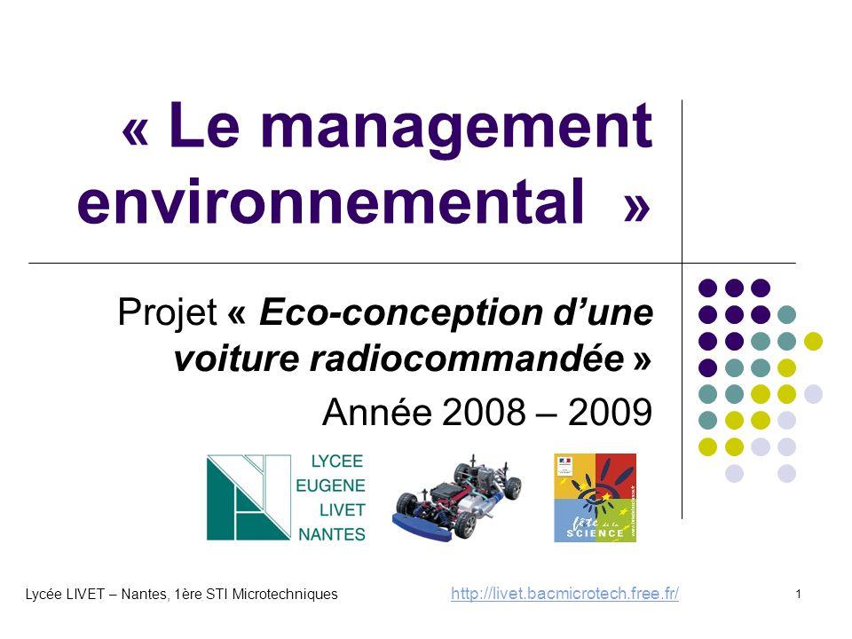 « Le management environnemental »