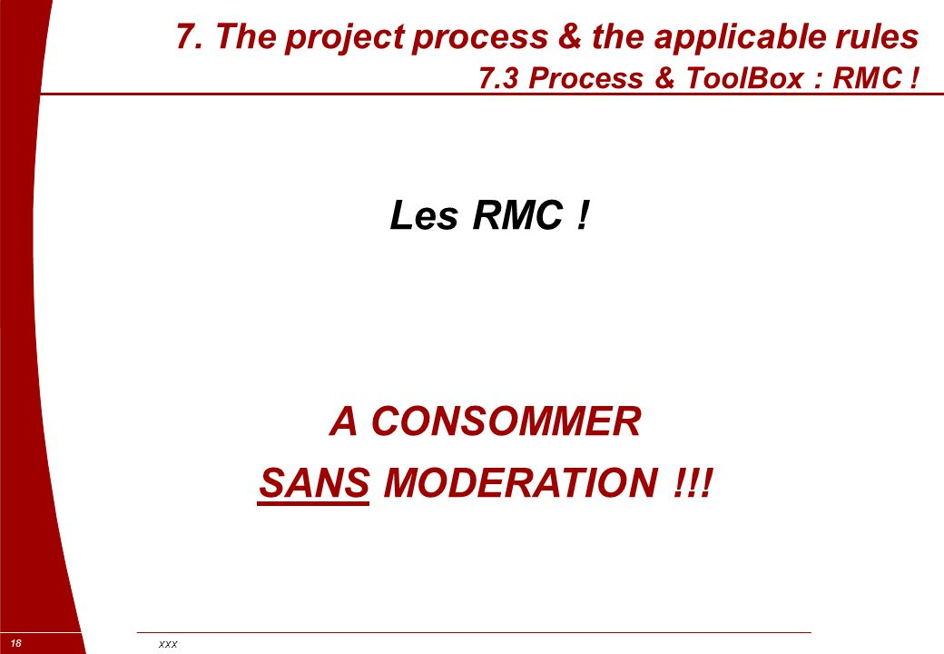Les RMC ! A CONSOMMER SANS MODERATION !!!