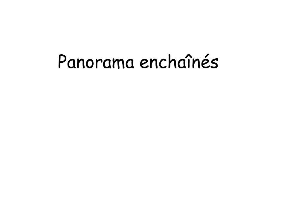 Panorama enchaînés