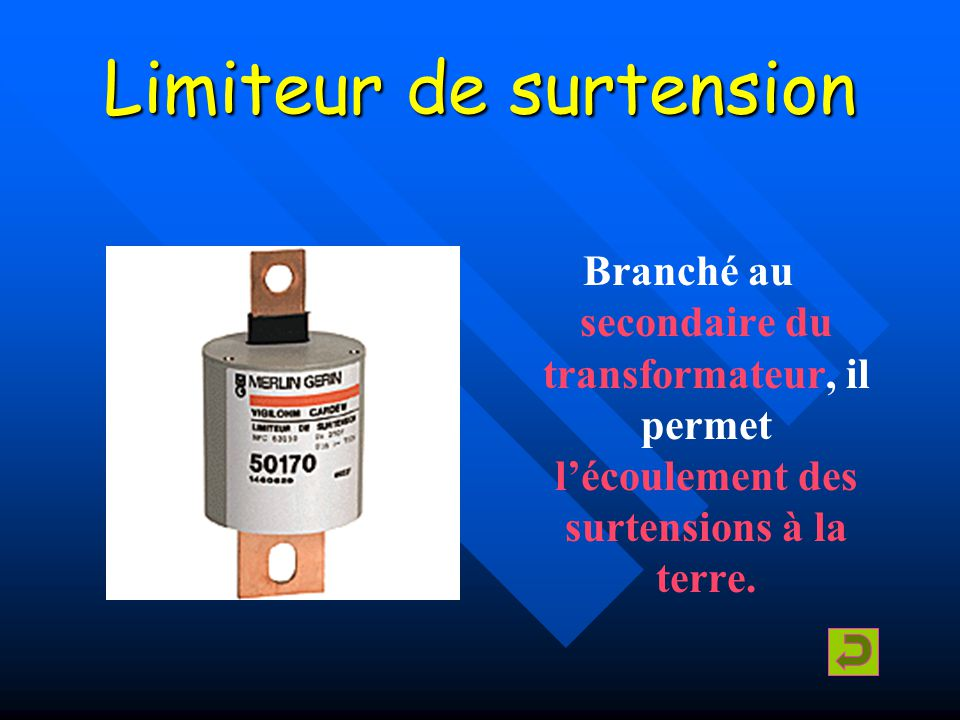 Limiteur de surtension