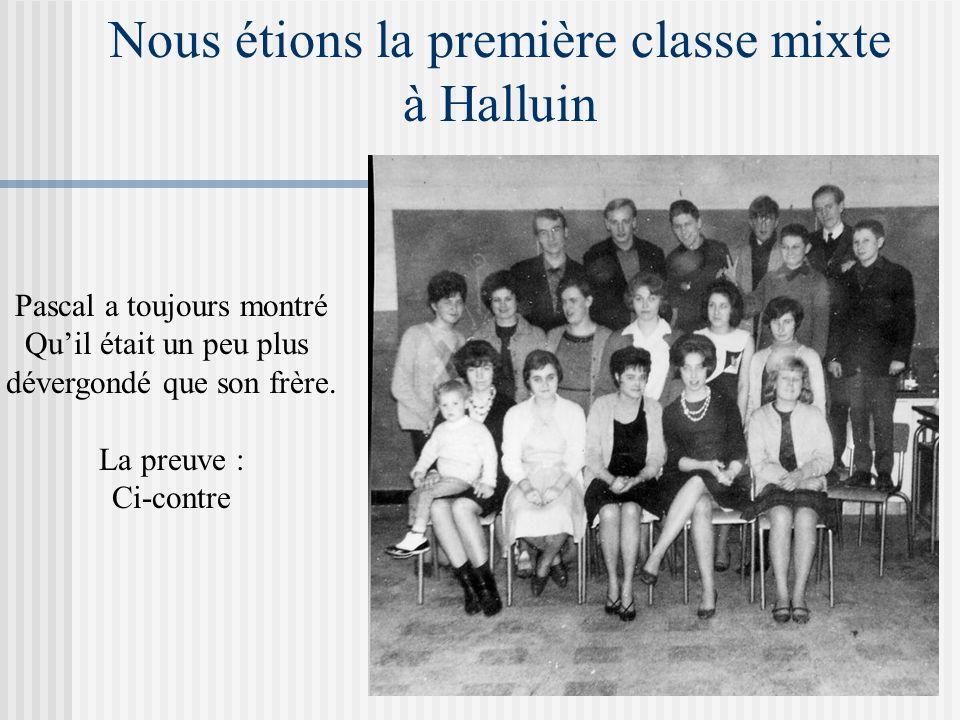 Nous étions la première classe mixte à Halluin