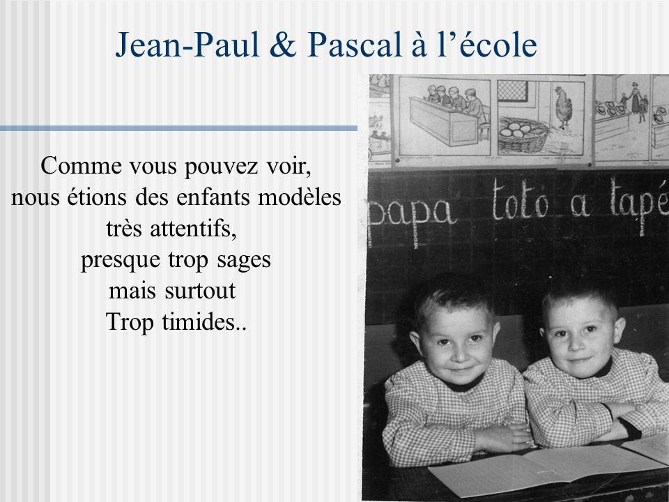 Jean-Paul & Pascal à l'école