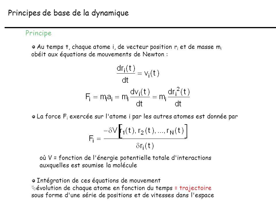 Principes de base de la dynamique