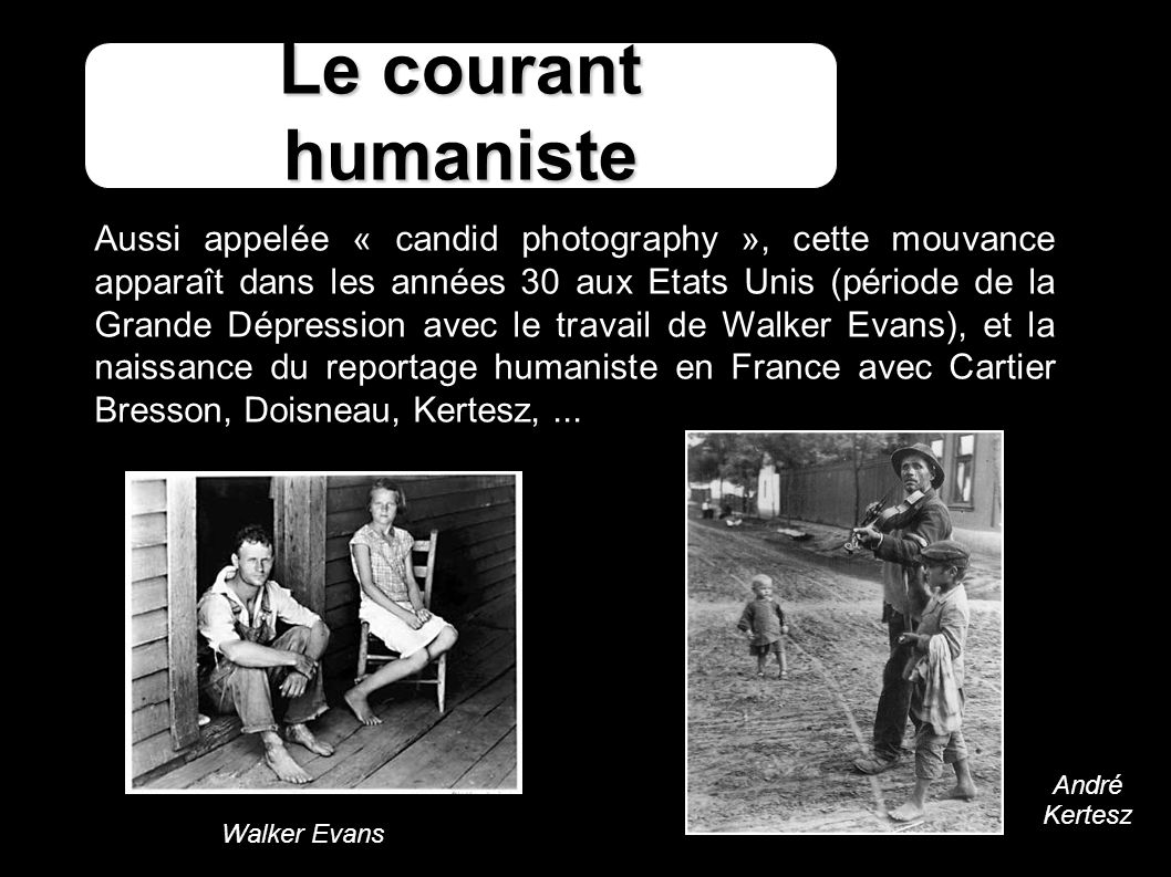 Le courant humaniste