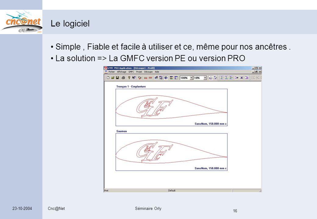 Le logiciel Simple , Fiable et facile à utiliser et ce, même pour nos ancêtres . La solution => La GMFC version PE ou version PRO.