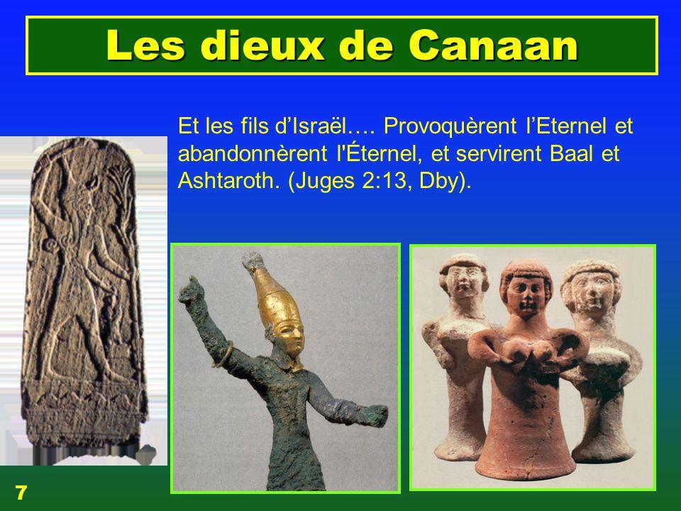 EZECHIAS: C- L Epreuve 06/04/2017. Les dieux de Canaan.