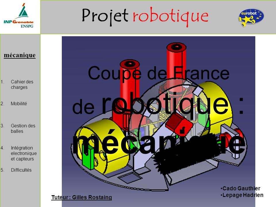 de robotique : mécanique