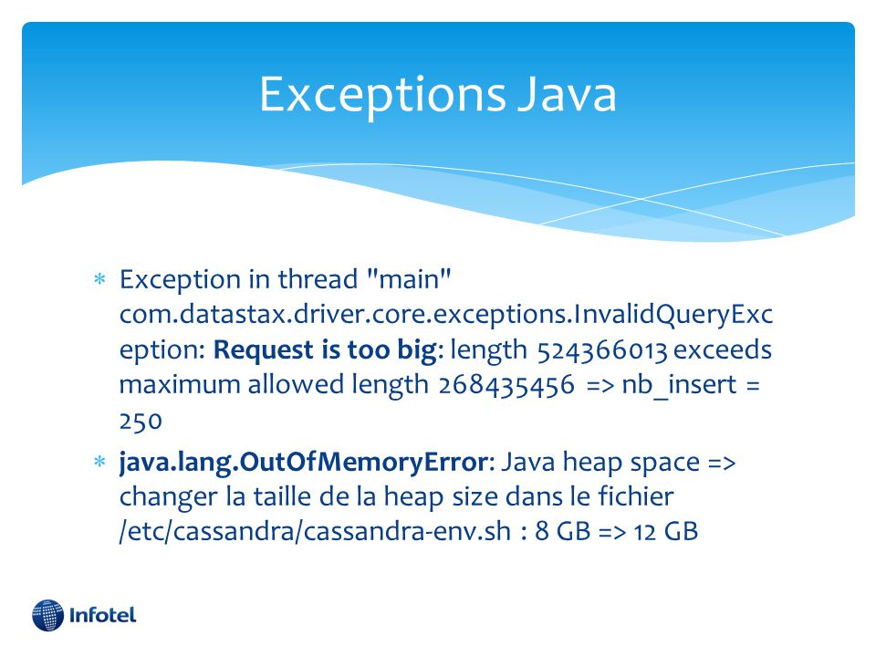 Exceptions Java