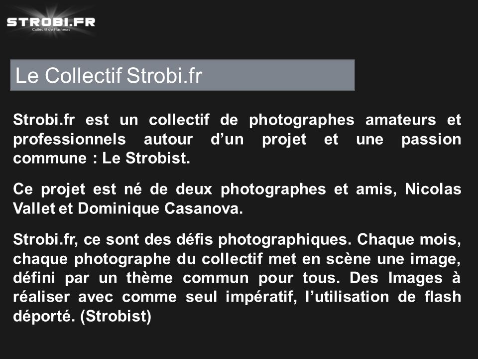 Le Collectif Strobi.fr