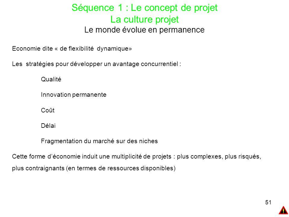 Séquence 1 : Le concept de projet La culture projet