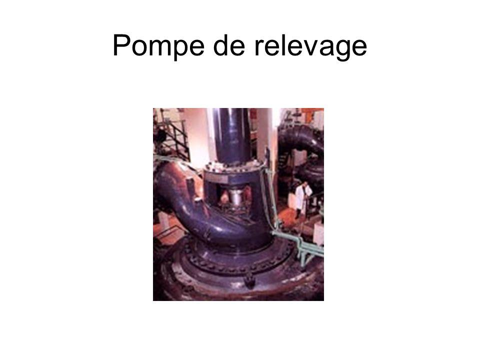 Pompe de relevage